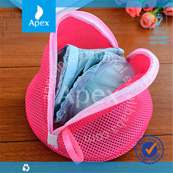 2014 Fashion travel zipper mesh bra bag
