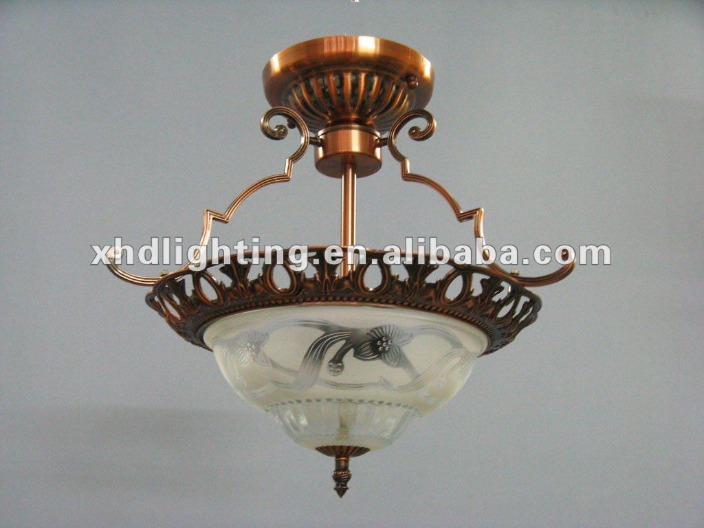 Hot selling brass ceiling turkish lamp