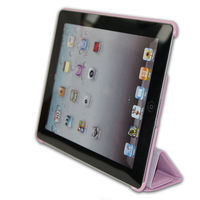 foldable case for ipad smart cover,with strong magnetic
