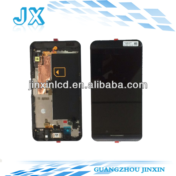 Original new replacement for blackberry z10 lcd screen with frame