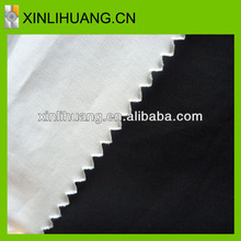 High quality plain textile black fabric 40X40 133X100