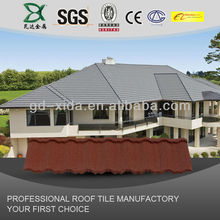 Japanese Glazed Clay Roofing Tile Flat Type ( Ceram F2 Matte Silver Black Color )