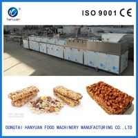 Automatic crisp rice candy, cereal bar candy cutting machine for sale