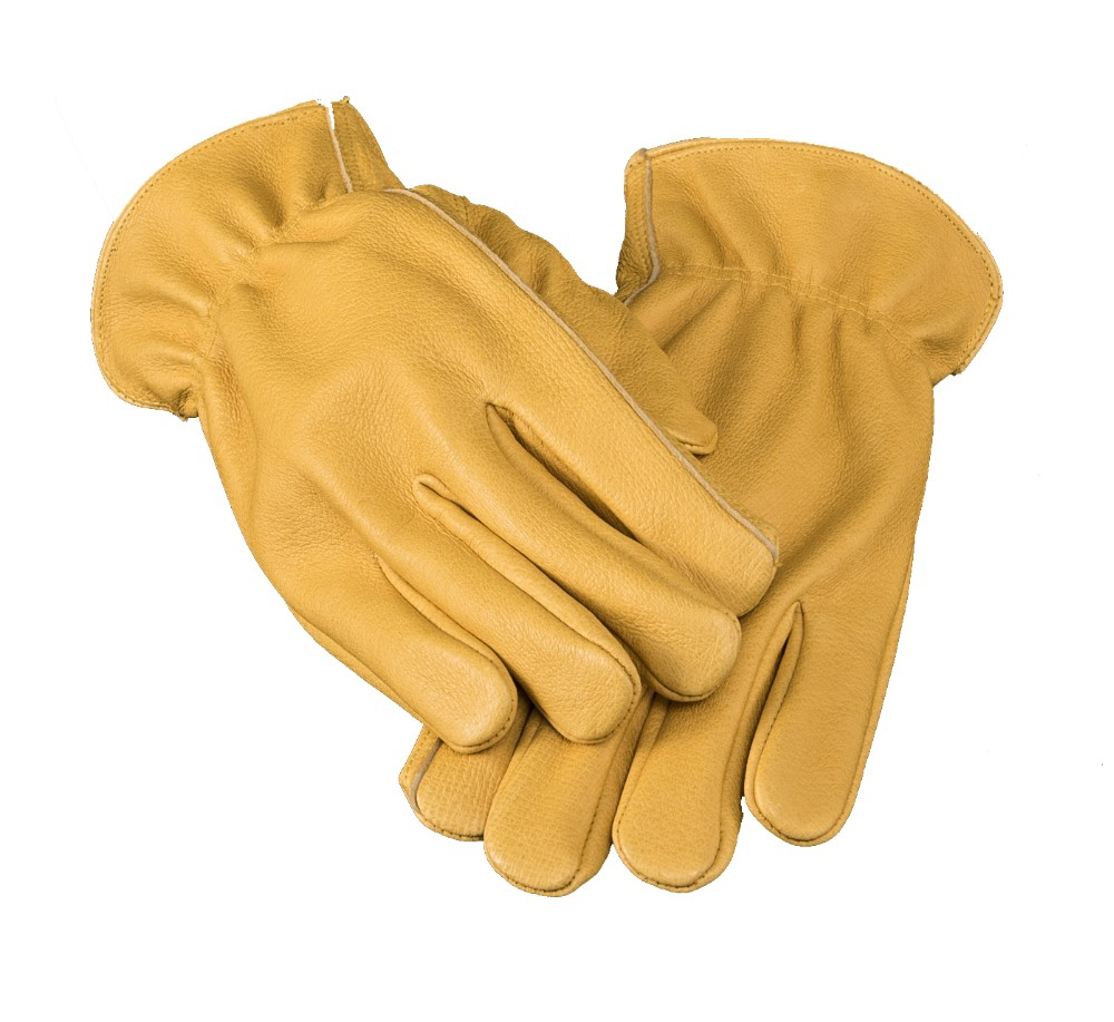 Wholesale customized cleaning cut proof operation welder's safety workwear chamois leather gloves