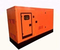 150KW / 188KVA Soundproof Diesel Generator Set For Hotel Use