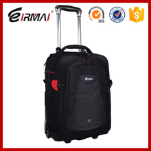 EIRMAI waterproof dslr camera bag rolling backpack trolley bag