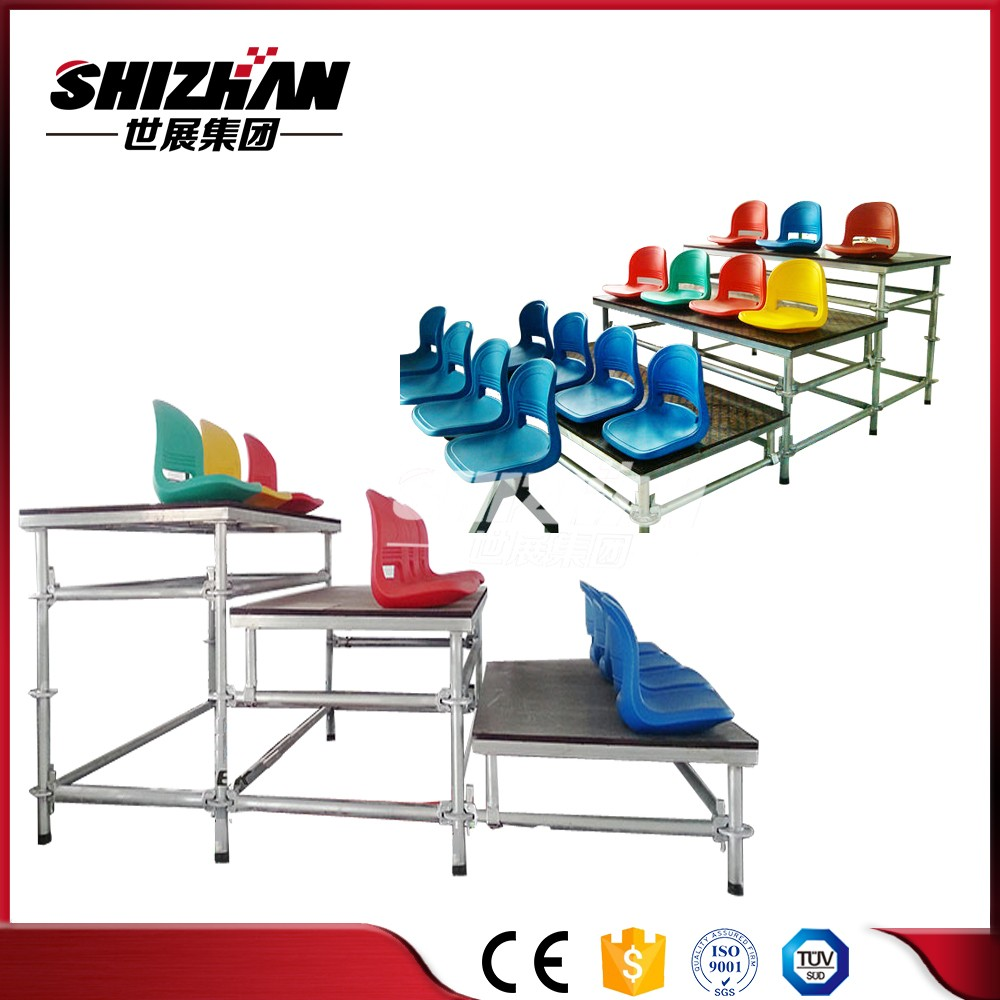 Outdoor Aluminum stadium seating demountable bleacher seats for sports,exhibition,concert
