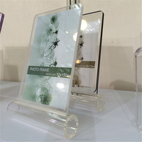 Plexi Glass Clear Acrylic Photo Frame