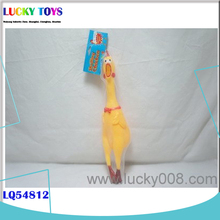 2014 new fashion chicken toy funny gift for kids wholesale factory soft plastic toy