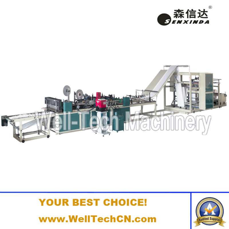 Commercial OFC SUP DIV Mailer, Plastic Coated Bubble Mailer Production Machinery