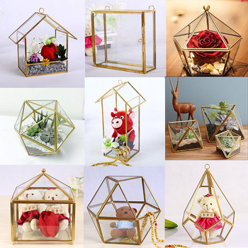 Wholesale wedding garden geometric vase cheap glass for Home decor online shopping usa