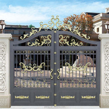 customized color concise style house decorative tube gate design