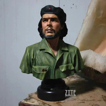 Hot Sale 21cm High Table Top Resin Che Guevara Bust Statue