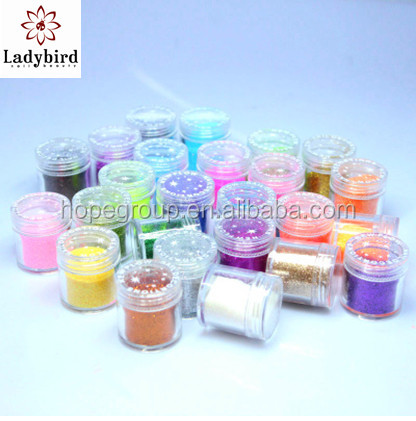 Nail Art PET Glitter dust/ Nail Glitter Powder Nail Acrylic Powder/color acrylic nail powder