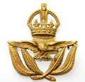 Custom Gold plated Royal Air Force metal badge or medal