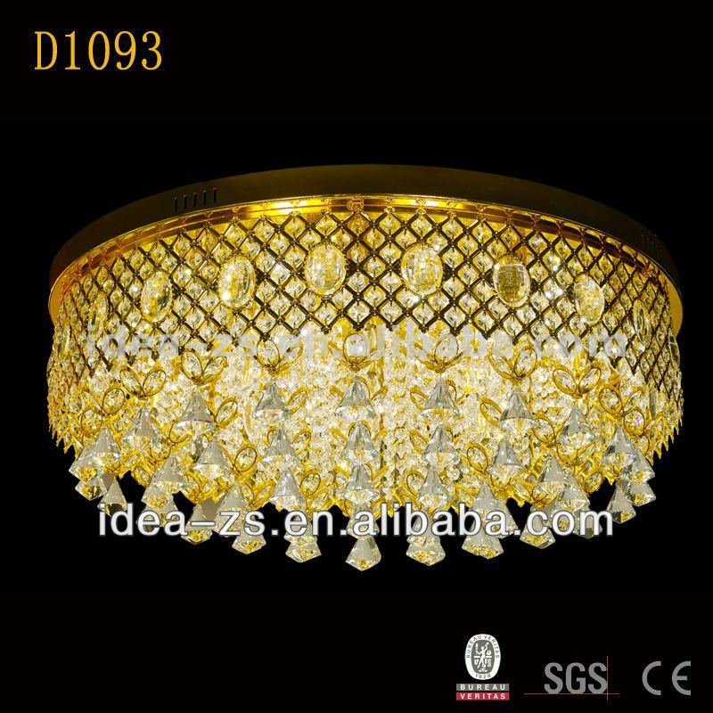 ceiling lamp hot indoor glass chandelier glass wall for hotel