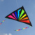 1.5m rainbow color triangle kite