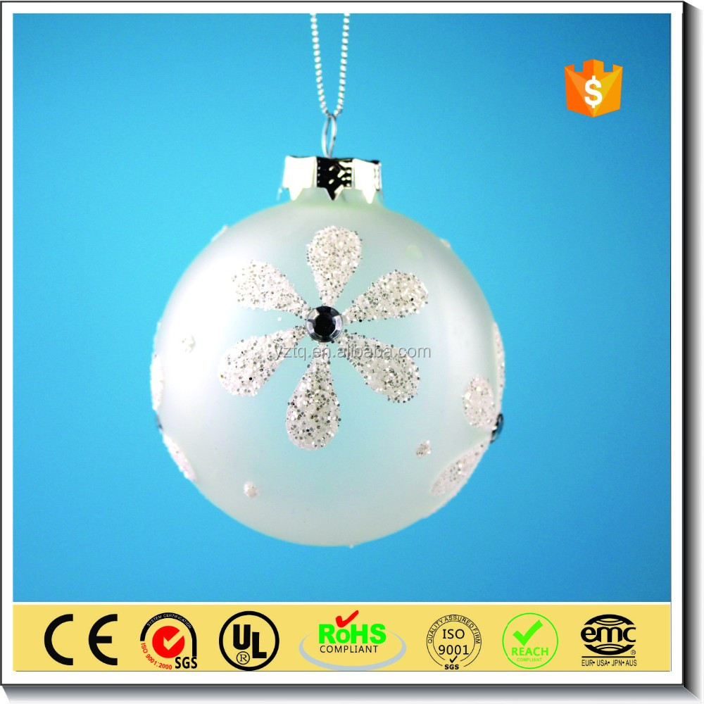 Clear glass ball ornaments - Usd 1 10 Wholesale Clear Frosted Glass Ball Christmas Ornament