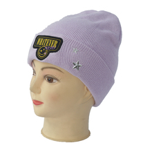 knitted classic adult beanie hat women winter hat and caps