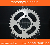 wholesale motorcycle chain and sprocket kits 428H-106L 36/14T to Myanmar