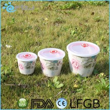 Plastic Food Container Bowl Set