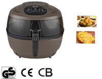 Turbo Air Fryer Electric cooker BBQ Defrost Deep New Big Capacity 5.8L Oiless Oil free Air deep fryer air circulation fryer