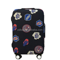 Transparent clear spandex custom luggage cover
