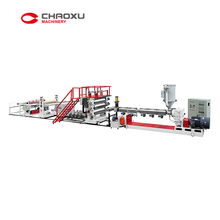 Small Automatic Plastic Sheet Extruder Machine