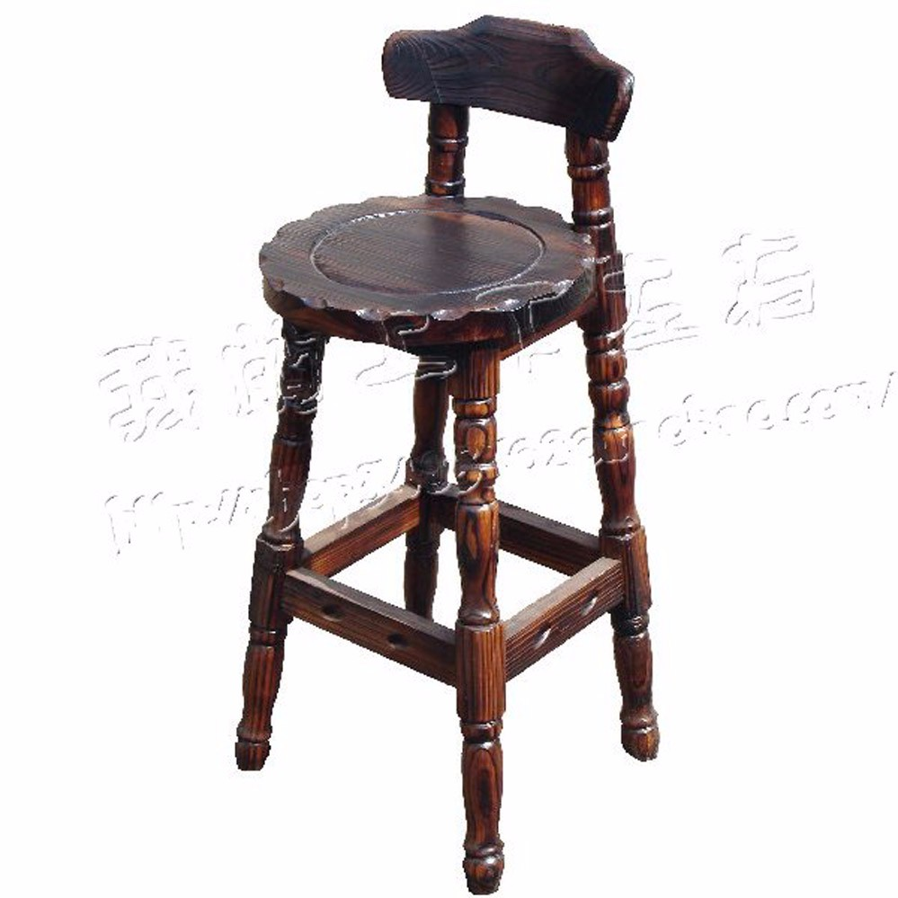 2016 hot sale solid wood bar stool