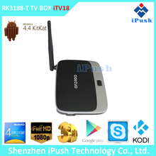 Hot selling rk3188 quad core 1080p google chrome tv box