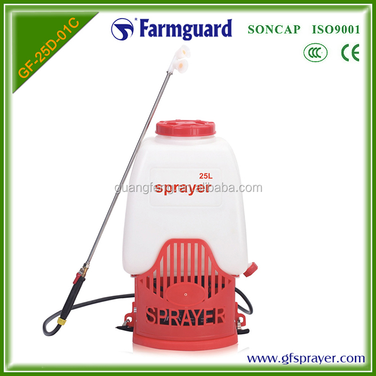 Farmguard 25L quick pressure arising high tree sprayer
