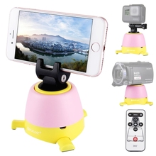 PULUZ Electronic 360 Degree Rotation Panoramic Tripod Head with Remote Controller for Smartphones