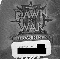 Warhammer 40 000 Dawn of War II Chaos Rising (Addon) PC Steam Key