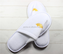 Customized Hotel/Spa/Hospital Disposable Slippers Terry Slippers