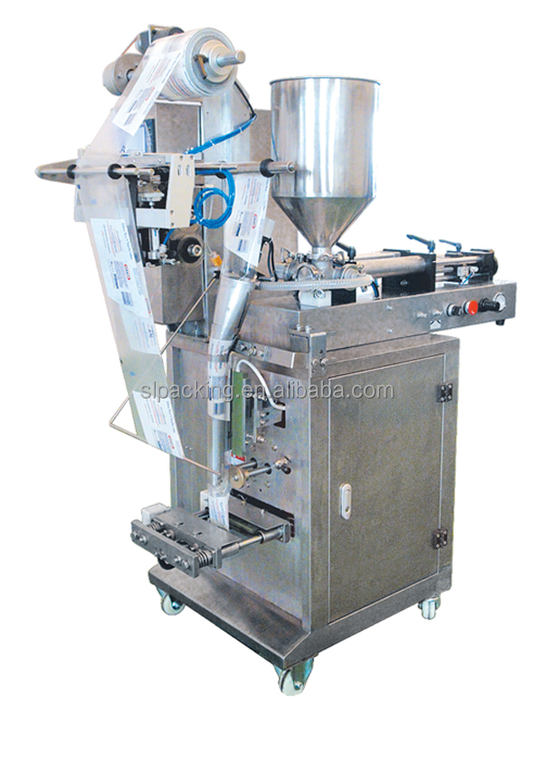 low cost automatic bag making sachet liquid packing machine