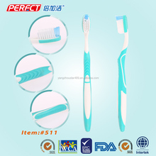 Tongue Cleaning Massage Toothbrush Denture Tooth Brush Manufacturer