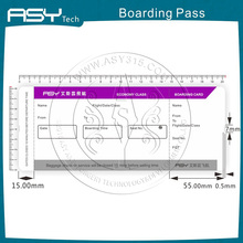 Custom printing service for thermal sensitive paper boarding pass