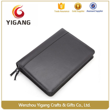 Cheap PU leather Business managers zipper bags