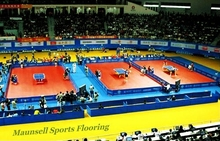 PVC flooring for basketball/badminton/volleyball/Table tennis court ground