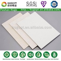 Thermal Insualtion Fireproof 4mm Thickness Calcium Silicate Board For Sandwich Panel