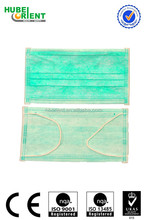 white blue green disposable surgical face mask 4ply or 3 ply or 2 ply