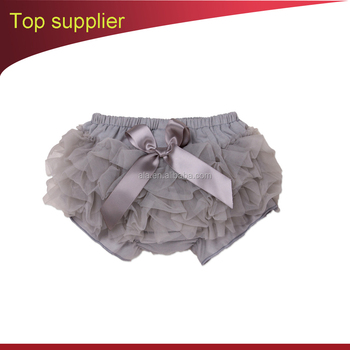 Baby Girls PP Shorts 2017 New Arrival INS Hot Ruffle Bloomer Tutus Skirts Diaper Cover PPPants Striped Bowknot 6-24Month