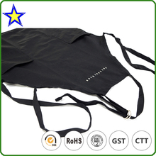 Wholesale factory made style fashionable black nursing apron