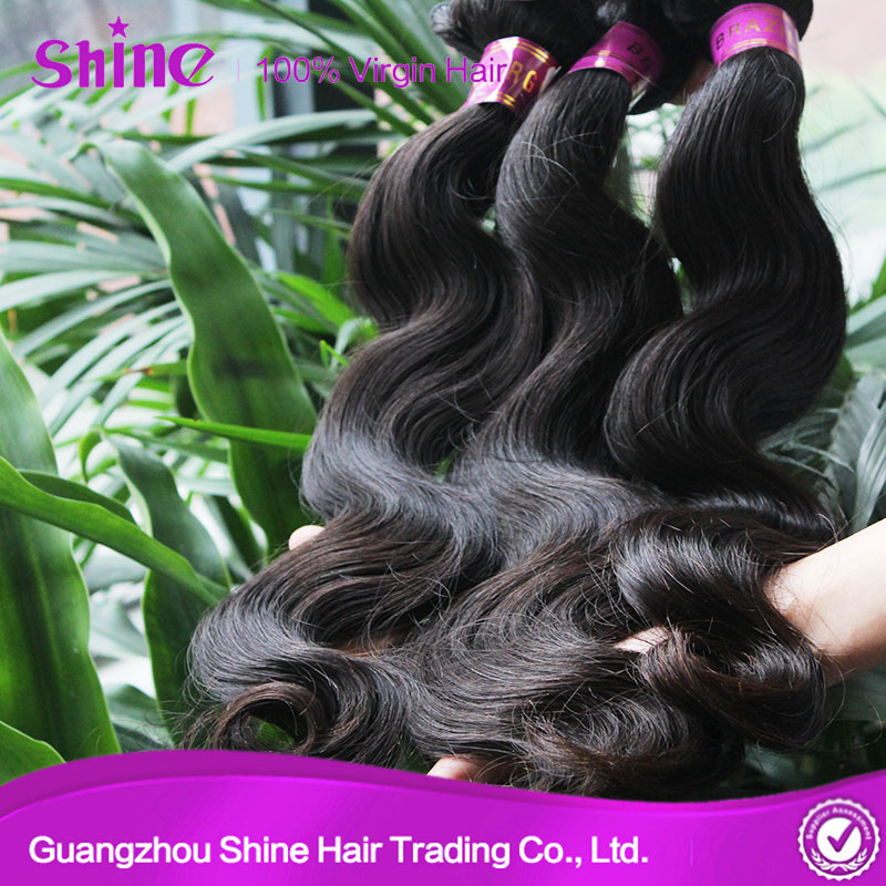 Top Quality Human Unprocessed Body Wave Hair Bundle 100% Virgin Brazilian Hair