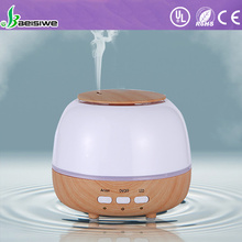 2017 new 7 LED clolor changed wood grain ultrasonic essential oil aroma diffuser