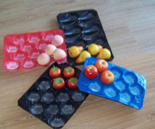 Green Plastic Eco Friendly Disposable Food Blister Packs For Fruits