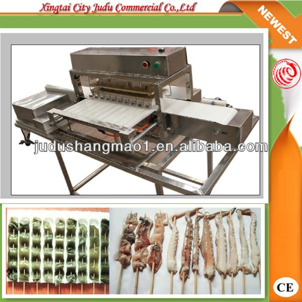 automatic skewer barbecue machine with Save manual WY-556