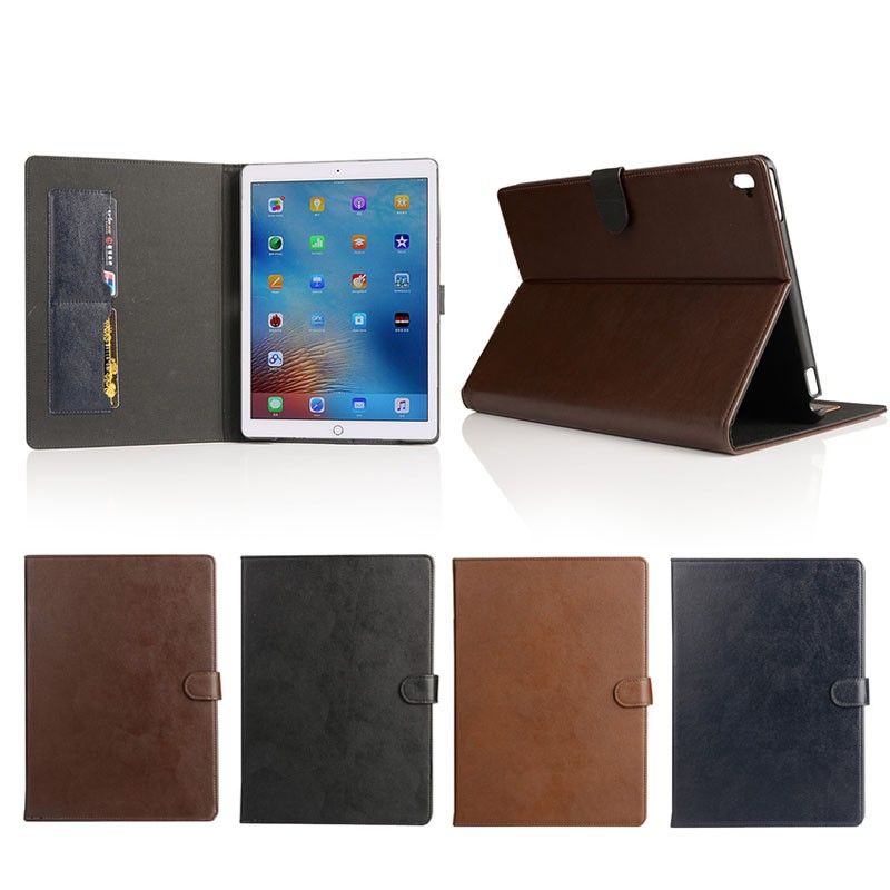 wholse best price flip leather cover case for ipad pro 9.7'' 12.9'' , for ipad pro protective case