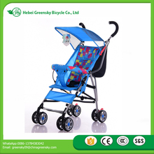 2017 high steel good quality umbrella baby stroller lightweight pushing chairs for 7-36 months baby