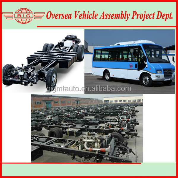 Deisel Mini City Bus Chassis Production Line